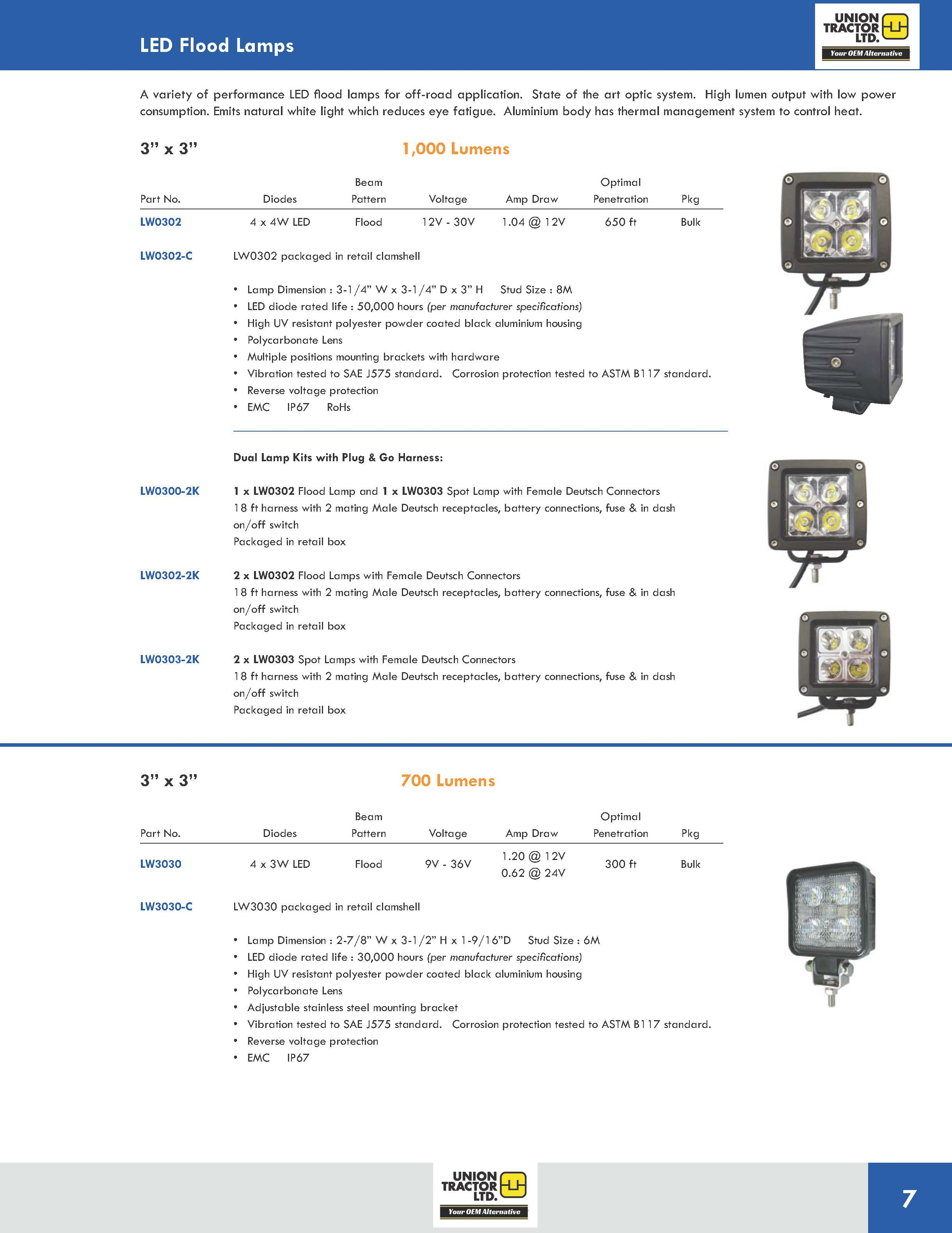 LED Flood Lamps UT_Page_4